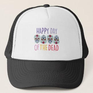 Day Of Dead Trucker Hat
