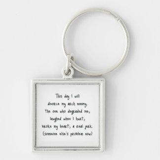 Day of Divorce Souvenir Keychain
