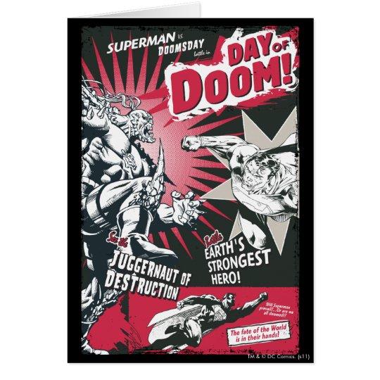 Day of Doom Comic Card