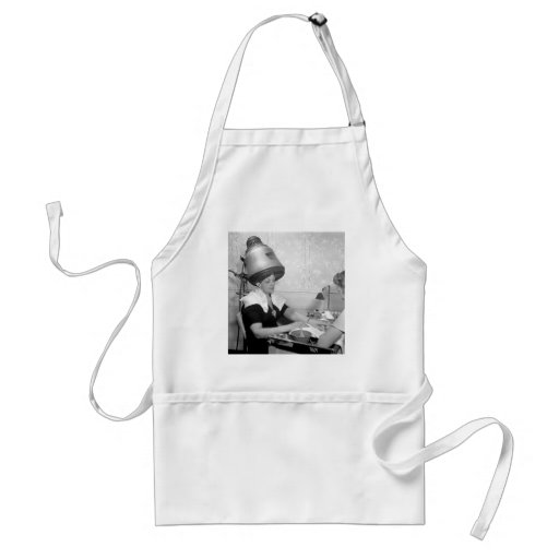 Day of Glamour Vintage Beauty Parlor New York City Aprons