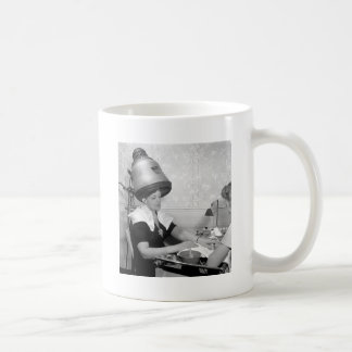 Day of Glamour Vintage Beauty Parlor New York City Mug