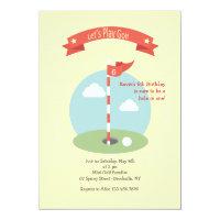 Day of Golf Invitation