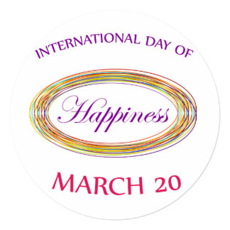 Day of Happiness- Commemorative Day Card