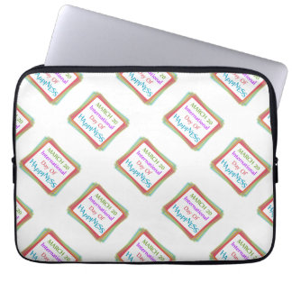 Day of Happiness Laptop Sleeve