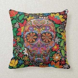Day of Los Muertos Throw Pillow