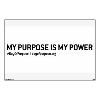 """Day of Purpose Wall Header Decal 30""""x45"""""""
