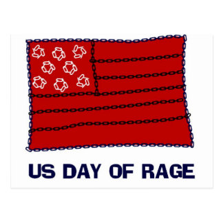 Day of Rage Postcard