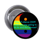 day of silence buttons