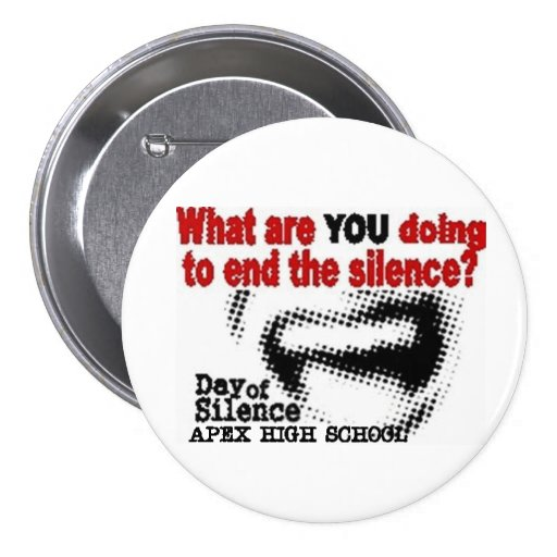 Day Of Silence Pins