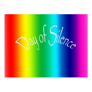 Day of Silence Postcard