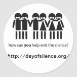 Day Of Silence Stickers