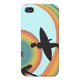 day of surfing vector design case for iPhone 4