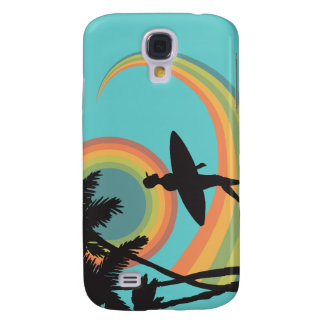 day of surfing vector design galaxy s4 cases