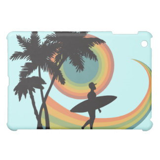 day of surfing vector design case for the iPad mini
