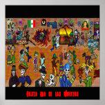 day of the dead2, Fiesta Dia de los Muertos Posters