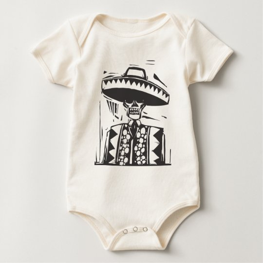 Day of the Dead #1 Baby Bodysuit