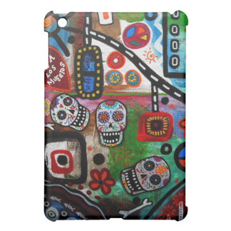 day of the dead ABSTRACT MUERTOS iPad Mini Cover