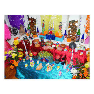 Day of the Dead Altar Offering Photo Print