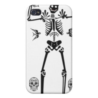 Day of the Dead any color iphone Case Cover For iPhone 4