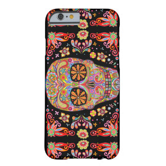 Day of the Dead Art Barely There iPhone 6 Case