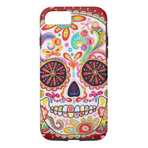 Day of the Dead Art Phone Case