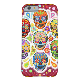 Day of the Dead Art iPhone 6 case
