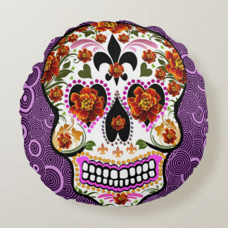 Day of the Dead Art Pillow