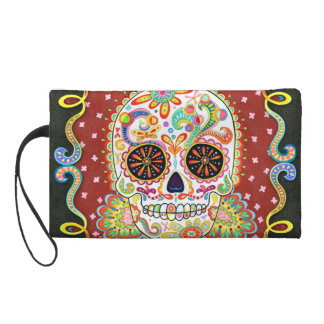 Day of the Dead Bag - Clutch Cosmetic Accessory