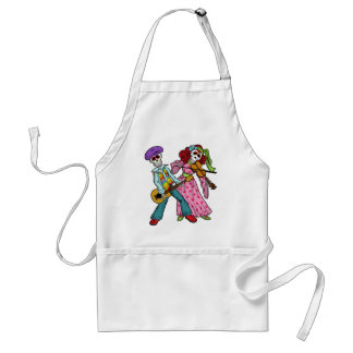 Day of the Dead Band Adult Apron