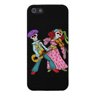 Day of the Dead Band iPhone SE/5/5s Cover