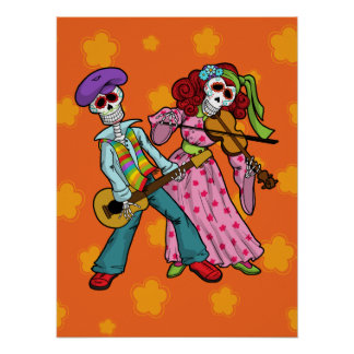 Day of the Dead Band Poster