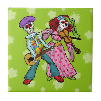 Day of the Dead Band Tile