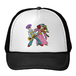 Day of the Dead Band Trucker Hat