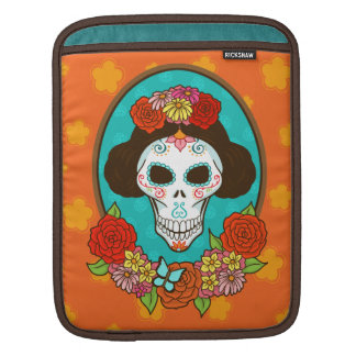 Day of the Dead Beauty iPad Sleeves