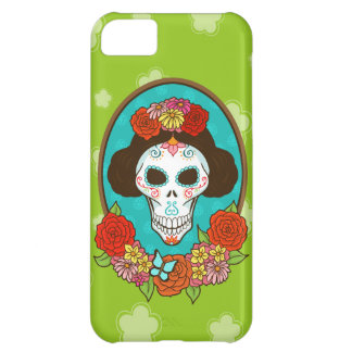 Day of the Dead Beauty iPhone 5C Case
