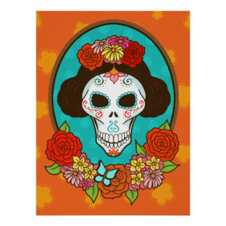 Day of the Dead Beauty Print
