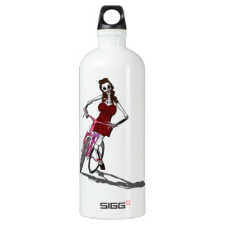 Day of the Dead Bike Chic SIGG Traveler 1.0L Water Bottle