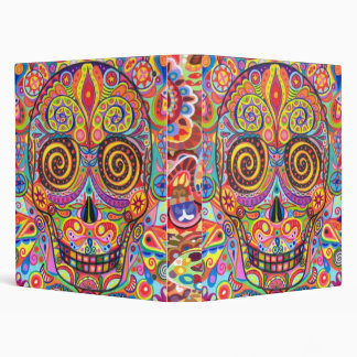 Day of the Dead binder