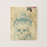 Day Of The Dead Bride Cinco De Mayo Skeleton Jigsaw Puzzle