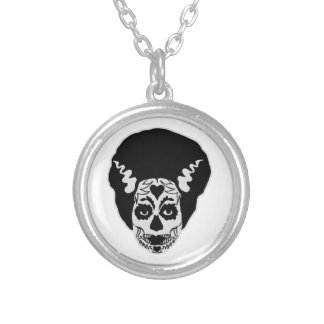 Day of The Dead Bride Necklace