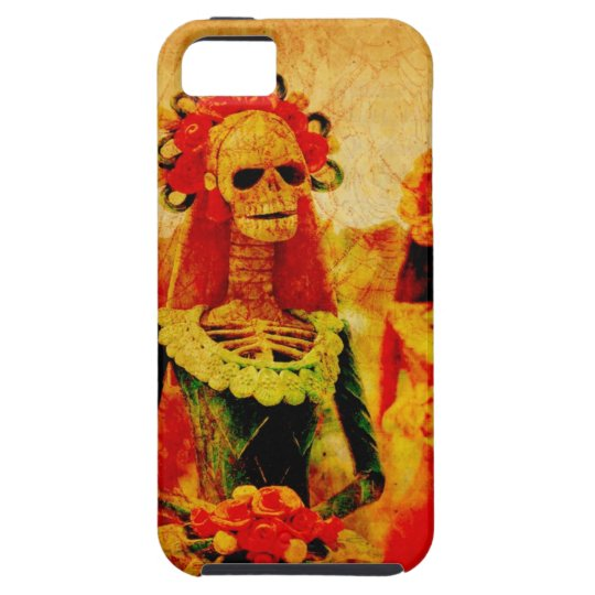 Day of the Dead Bride phone case
