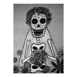 DAY OF THE DEAD BRIDE  POSTERS