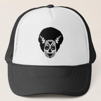 Day of The Dead Bride Trucker Hat