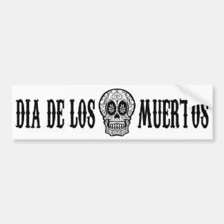 Day Of The Dead Bumper Sticker