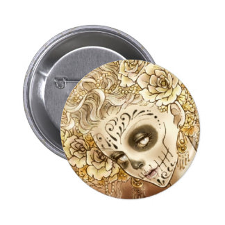 Day of the Dead Button