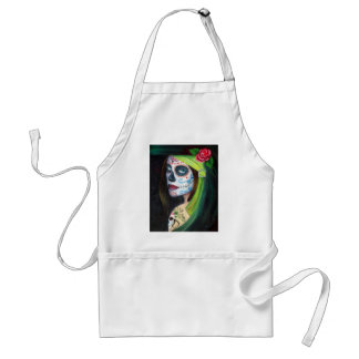 Day of the  Dead by Lori Karels Adult Apron