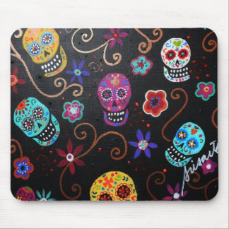 Day of the dead Calavera Mouse Pad