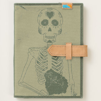Day of the Dead Canvas Journal
