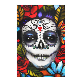 Day of the Dead Canvas Print