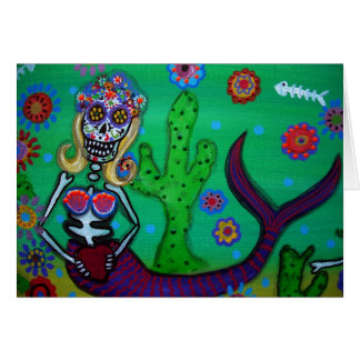 DAY OF THE DEAD CARD GREETING CARDS